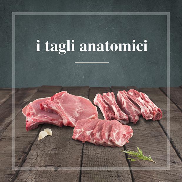 Tagli anatomici artigianali tradizione umbra Cornicchia